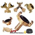 Brass Geka Type Water Fittings & Claw Couplings